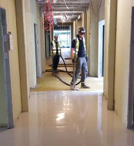 Floor Screed Preparation